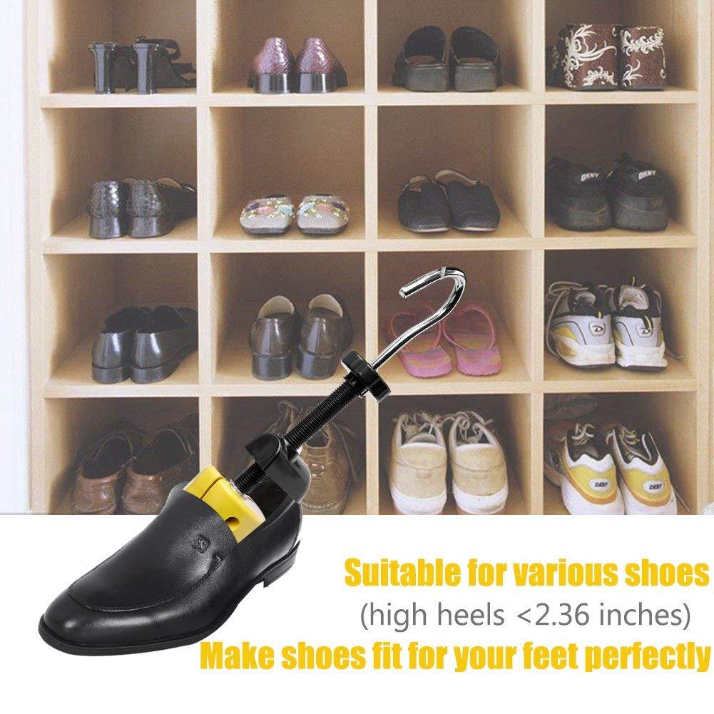 Wooden Shoe Stretcher Adjust Length/&Width Men Women Heels Flat Shoe Expansion